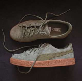 Puma Basket Winterized (Burnt Olive) 37.5