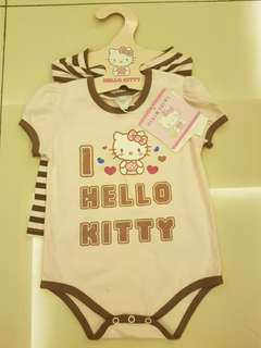 *new with tag and hanger* hello kitty baby