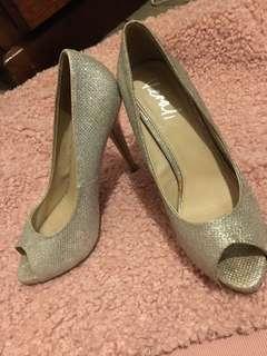 Verali silver heels