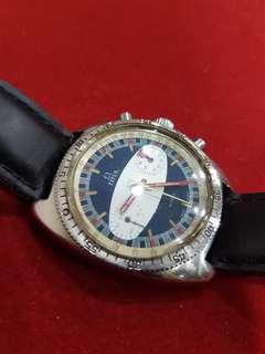 Vintage 1970s Titus Chronograph watch