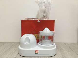 櫻花 蔬果調理機 (使用1號電池)