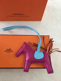 Hermes Rodeo PM Rose Pourpre