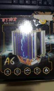 COOLING AIR FOR CPU with LED LIGHT (overclocking)