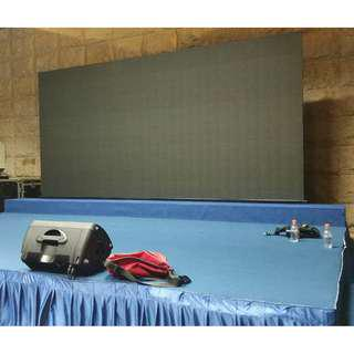 Used P4.8 Indoor LED Video Wall (Modular - Stored away in custom flight cases when not used) 20 sqm