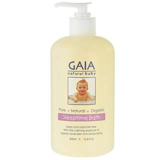 🚚 [FREE MAIL]BN Gaia baby sleep time bath 500ml