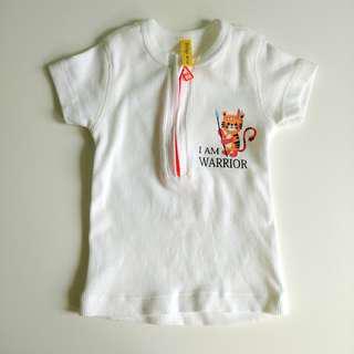 Richgi baby top (I am warrior)