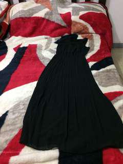 Formal long dress (black)