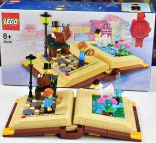 Lego Creative Personalities Hans Christian Anderson Story Book Set 40291