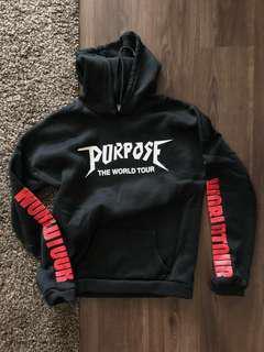 Justin Bieber Purpose World Tour Hoodie