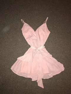 Pink/ beige Dress!