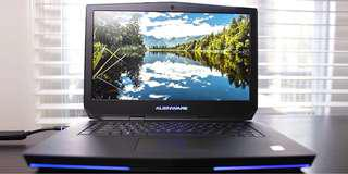 Alienware 15 r2 6th Gen i7, SSD+HDD, 970m graphic card
