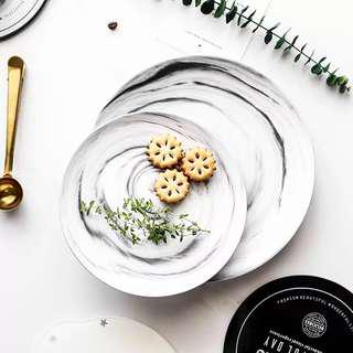 Marble Plates (Comes with 2 sizes)