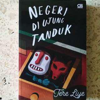 Novel Negeri Diujung Tanduk karya Tere Liye