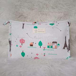 CANVAS BIG POUCH🌸 [NEW]