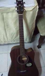 Acoustic Guitar ibanez ori bkn copy ori