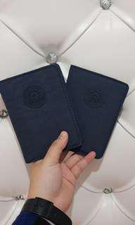 KIPLING Original Paspor Cover Biru Donker