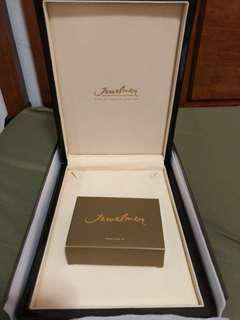 Authentic Jewelmer pearl box and pearl care kit