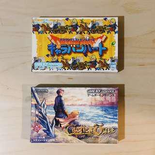 Game Boy Advance GBA Dragon Quest , Tactics Ogre