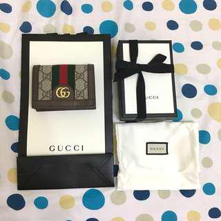 🚚 (待付款)Gucci 短夾全新正品