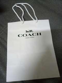 COACH紙袋