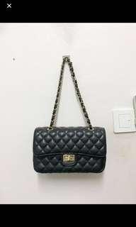 Black Quilt Bag