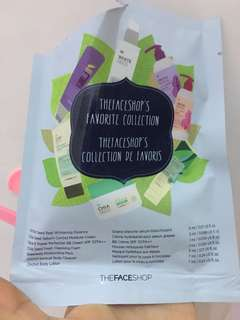 The face shop favorite collection