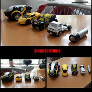Mix TOY CARS from various brand.