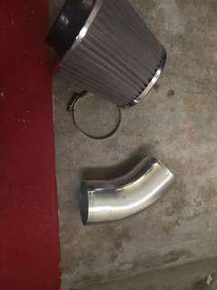 Car open pod air intake filter