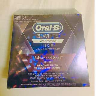歐樂B 3D美白牙齒貼片