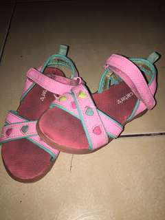 Carters sandals for girls(kid) with light