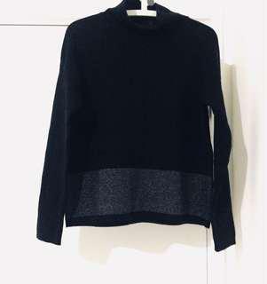 Black jumper (bit oversized)