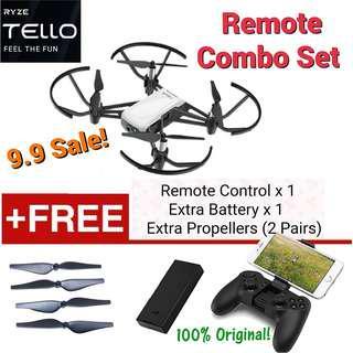 DJI Tello Remote Combo Set/Pre 9.9 Sale! Local DJI Warranty! Hot Deals!