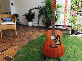 Sexiest Guitar in SG? Custom Ibanez Mahogany