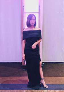 Apartment 8 gown for rent small black