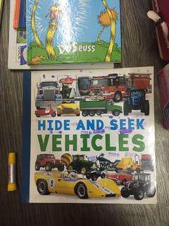 Hide and seek vehicle