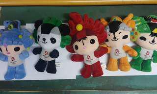 2008 中國奧運吉祥物福娃 1套5隻