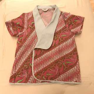 Outer Batik Kimono Atasan Wanita
