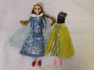 Frozen Princess Doll and Dress