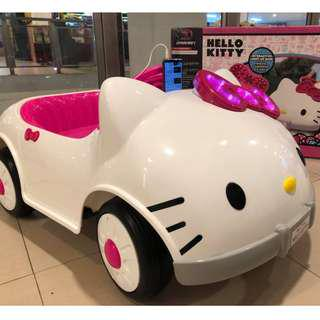 License Big Hello Kitty Electric Ride On Toy Car For Kids