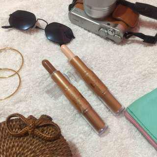 Concealer and Highlighter Stick