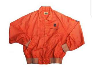 Orange vintage thrift Jacket