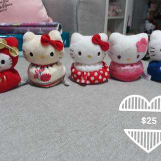 Hello Kitty bean plushies