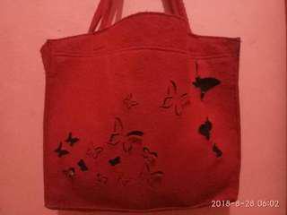 Murmer !!! Tas merah butterfly