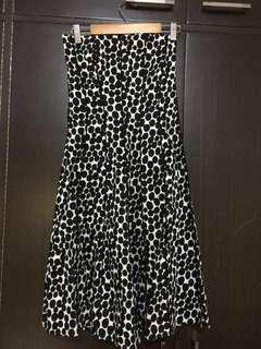 Dress (semi formal, black&white, vintage polka dots)