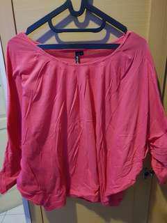 Baju gombrong / baju jalan / baju crop