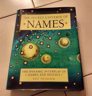 The Secret Univ. of Names- Roy Feinson
