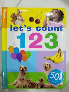 Let's count 123 (Hard Cover)