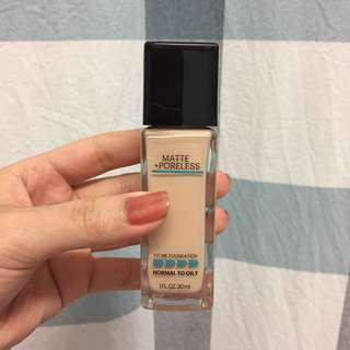 Maybelline Fit Me Matte Poreless Foundation in Natural Ivory 112