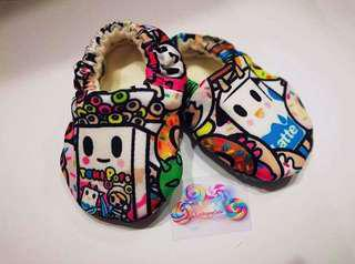 🚚 Custom Made Tokipop Pre-walker Shoes (Tokidoki)