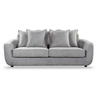Cozy 3 Seater Sofa - Grey